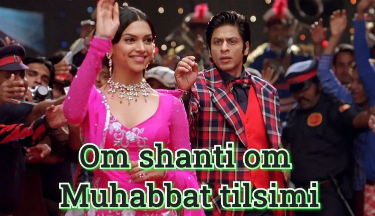 Om shanti om (muhabbat tilsimi) — hind film o`zbek tilida