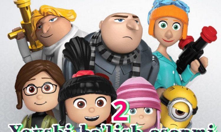 Yaxshi bo'lish osonmi 2 — multfilm o`zbek tilida